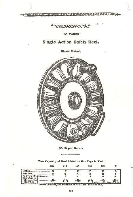 Rare Hendryx Safety Reel